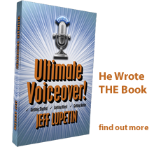 Jeff's new book Ultimate Voiceover!